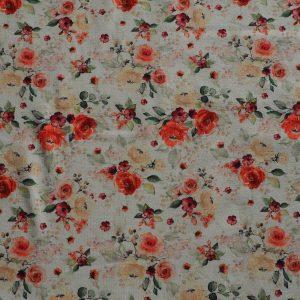 Baumwolljersey – Rose Blume