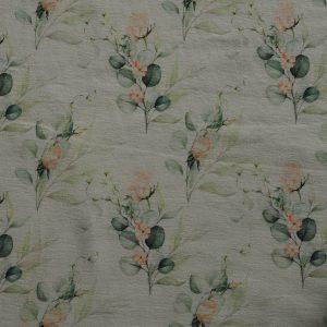 Baumwolljersey – Rosen Eukalyptus