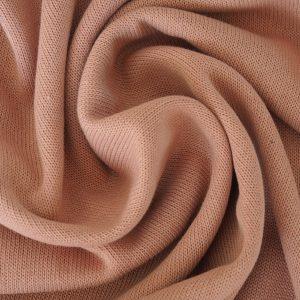 Baby Strickstoff Baumwolle – altrosa