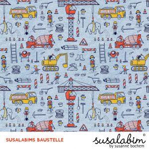 Susalabims Baustelle – lillestoff